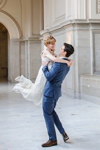 san francisco city hall wedding image
